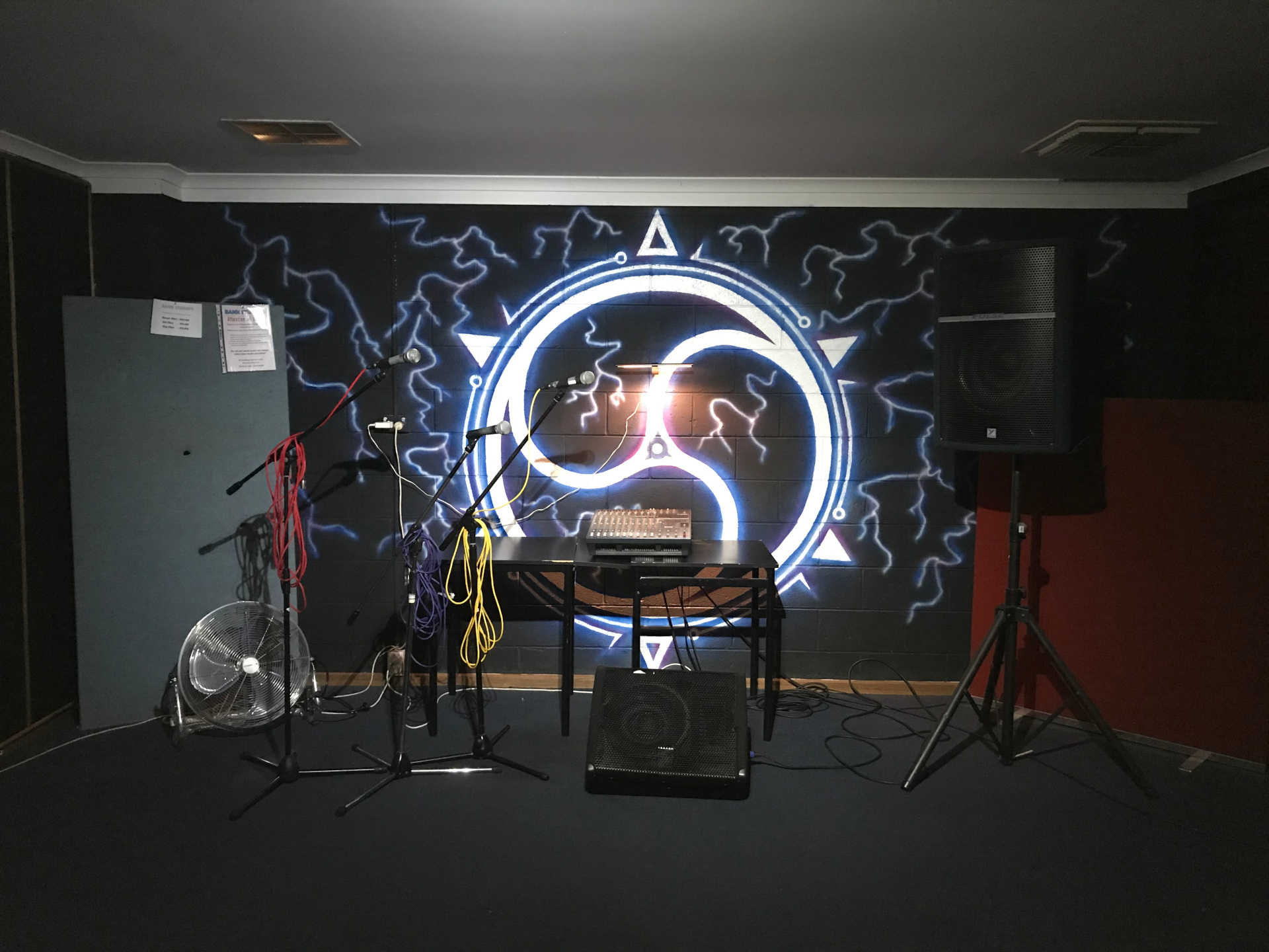 Bank Studios Rehearsal Studio Adelaide Band Practice